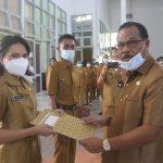 SekdaKabupaten Kupang, Obet LahamelepasCPNSformasi 2019