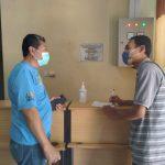 Sekretaris dinas kesehatan Kota Kupang Rudi Priyono, saat diwawancarai (Foto: Istimewa)