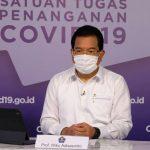 Juru bicara Satgas Penanganan Covid-19, Prof Wiku Adisasmito
