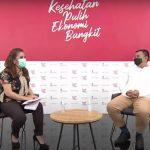 Ketua umum Asosiasi E-commerce Indonesia (idEA) Bima Laga, saat diwawancarai. (ist)
