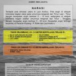 Peringatan dini BMKG tentang gelombang tinggi di sekitar perairan laut NTT. (ist)