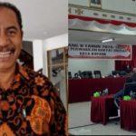 Christian Baitanu, wakil ketua DPRD kota Kupang dan suasana sidang terakhir. (ist)