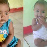 Nona Tallo, bayi berusia 8 bulan yang hilang sejak kemarin serta tangkapan layar kabar bayi yang hilang tersebut di medsos