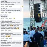 Tangkapan layar komentar warganet, serta wakil gubernur dalam acara tersebut tertangkap tidak memakai masker. (ist)