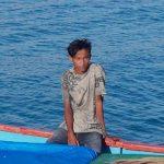 Leonard Lage Tuka, nelayan hilang yang ditemukan dalam keadaan selamat (ist)