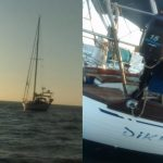 Kapal SV Divenga Saat ditemukan di perairan Raijua (ist)