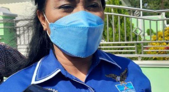 Kader senior Partai Demokrat sekaligus anggota DPR RI, Anita Jacoba Gah (yandry/kupangterkini.com)