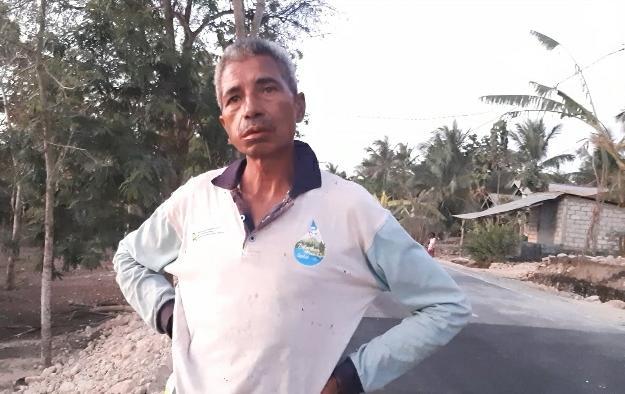 Marthen Bira, tokoh masyarakat desa Raknamo (yandry/kupangterkini.com)