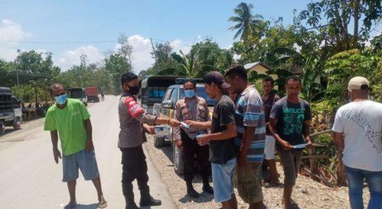 Para Sopir pick Up saat menemui kapolsek Sulamu terkait rencana kenaikan tarif penumpang (ist)